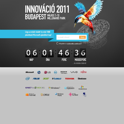 Innováció 2011 - comming soon