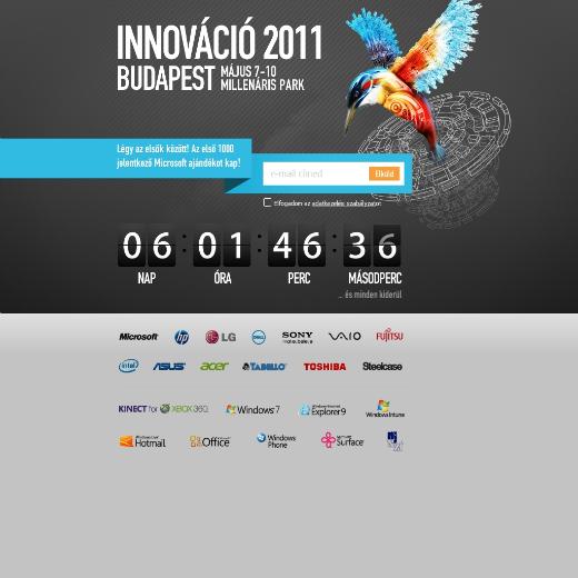 Innováció 2011 - comming soon