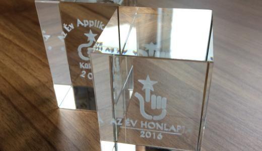 Év honlapja díjak 2016
