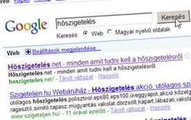 Hőszigetelés - google